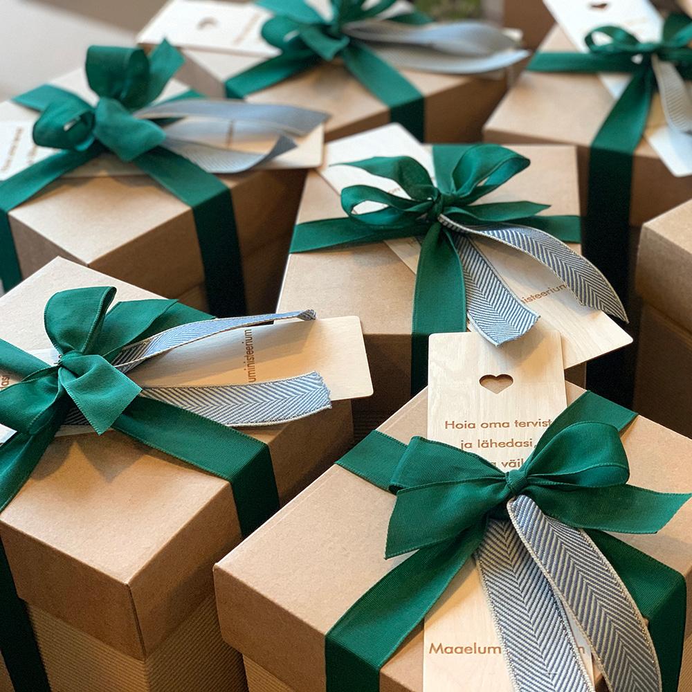 Maaeluministeeriumi kingitused